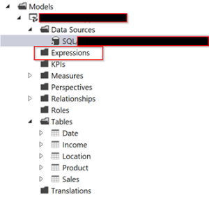 Quirks of Visual Studio Query Editor working with Analysis